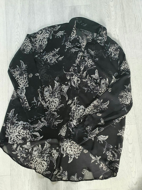 Atmosphere black lightweight blouse. Size 12