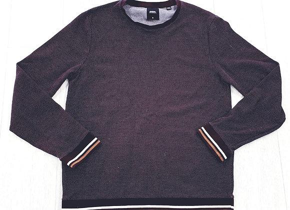 Burton burgundy sweater. Size M