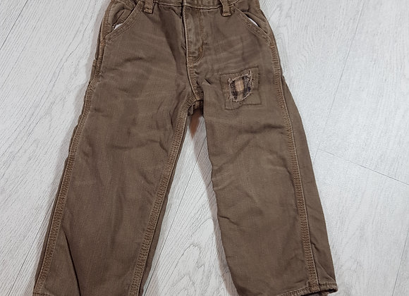 🍂Baby Gap beige trousers with adjustable waist size 18- 24 months