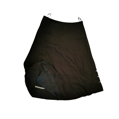 Betty Jackson Black long skirt. Uk 18 NWT
