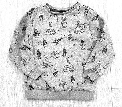 George grey igloo sweater. 3-4yrs