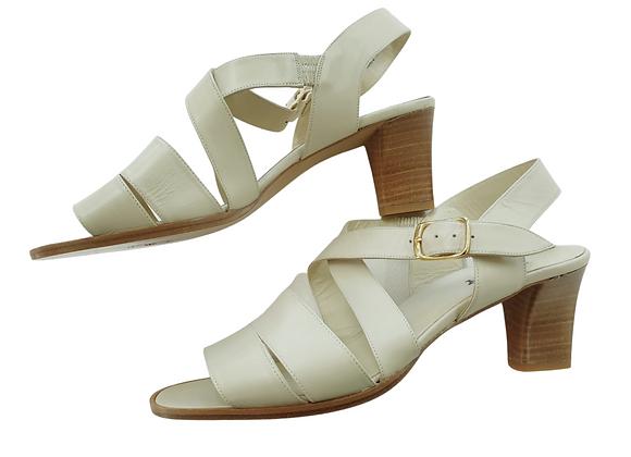 Bally cream sandals. Eu 41 NWOT