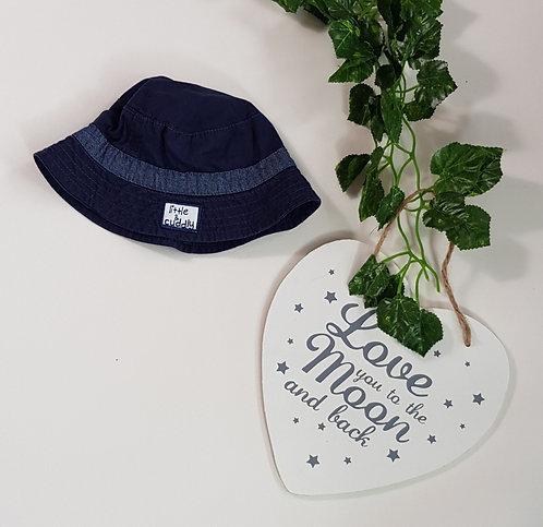 George navy summer hat. 0-3m