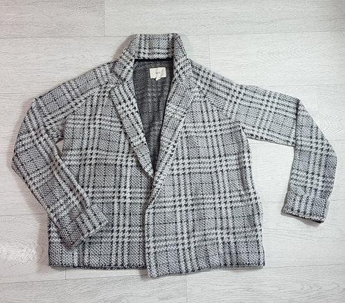 Next soft check jacket. Size 10 / Euro 38