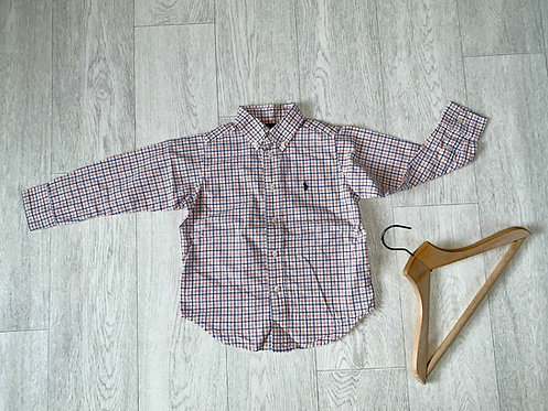 🦊Ralph Lauren check shirt. 4/4T