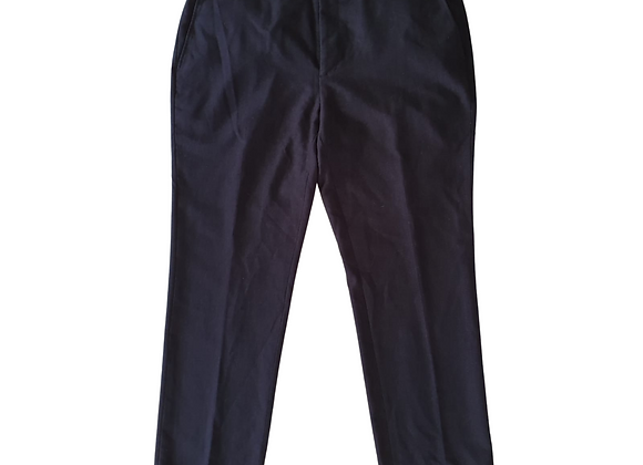 Burton slim fit navy suit Trousers . 40w Regular