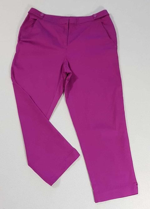 ◾Tu purple cropped trousers. Size 10