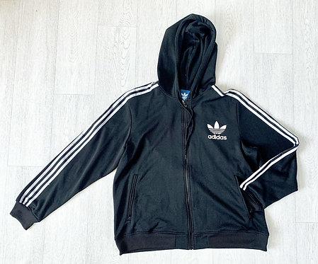 Adidas black hoody. XL