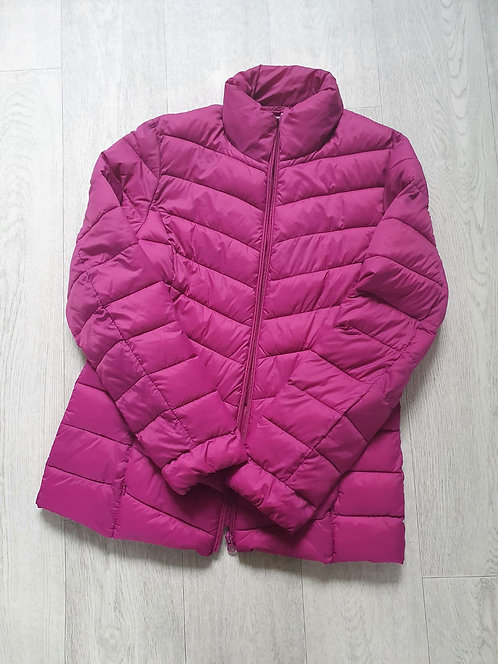 George pink quilted coat. Size 12