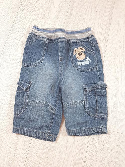 🌈Next baby denim jeans size 3/6 months