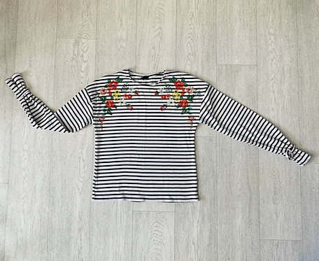 Kylie at M&Co striped top. 13+yrs