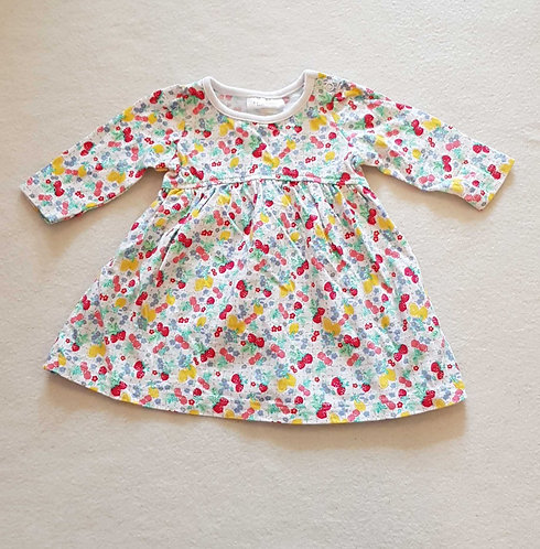 Next dress with fruit print. First size