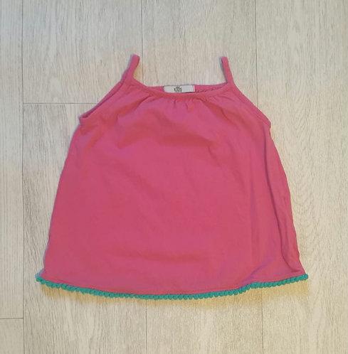 ⭐M&S pink vest top 1½-2yrs
