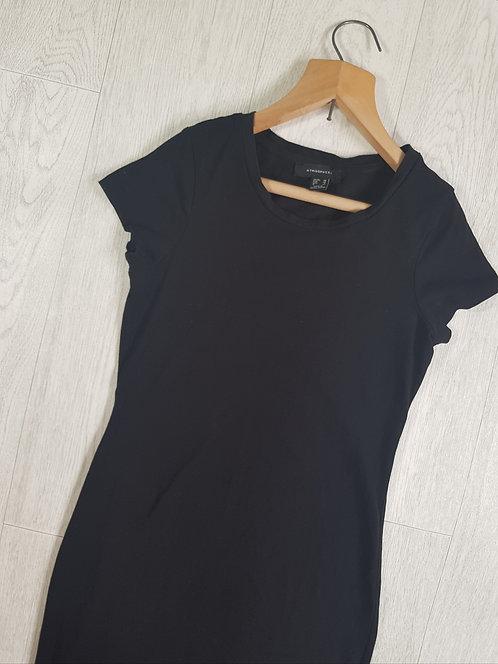 🔷️Atmosphere black stretchy t-shirt dress size 10