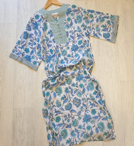 🌸The Shop blue/green tunic dress. Size S