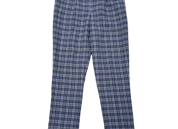 Alice Collins blue check vintage trousers.  Uk 16