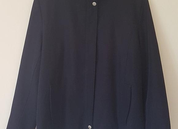 ELEGANZÉ. Navy coat. Size 12.