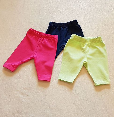 GEORGE Pack of 3 pairs of leggings. First size