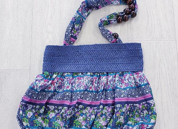 Colourful handbag.