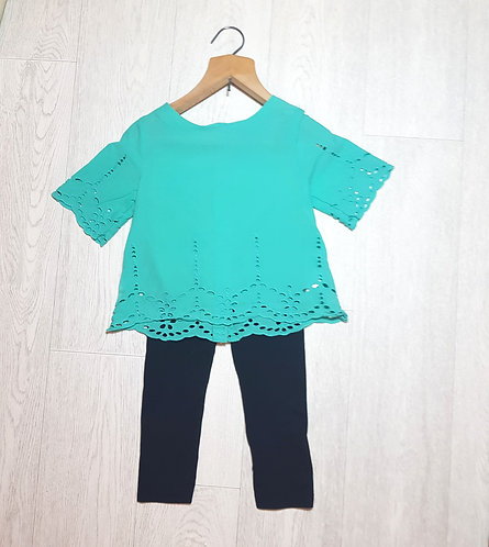 🌈Next Green girls blouse size 5 years