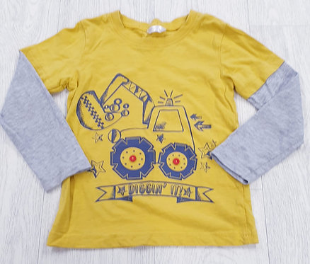 M&Co digger top. 3-4yrs
