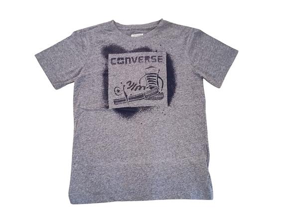 Converse pale blue t-shirt. 12-13yrs