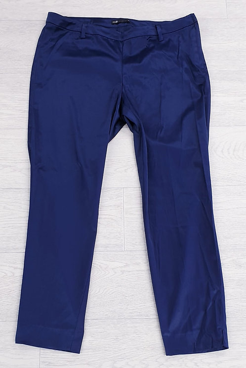 •Oodji blue trousers. Size Euro 44