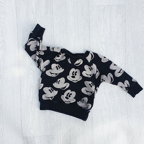 🐦Next Mickey Mouse jumper. 12-18m