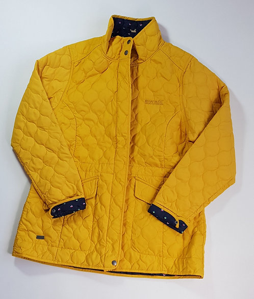Regatta yellow quilted jacket. Size 18