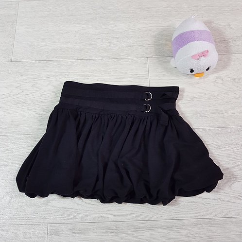 Next black layered skirt. 5yrs