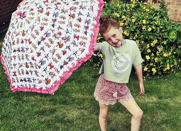 Alice Bridgewater children's umbrella.