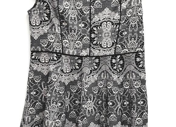 Dorothy Perkins black/ivory dress. Size 14