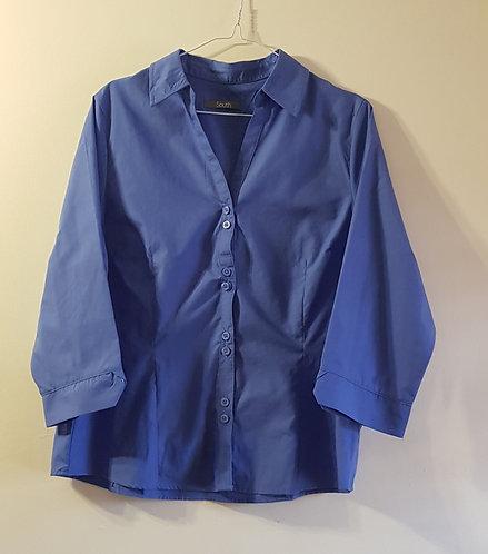 SOUTH Blue blouse size16