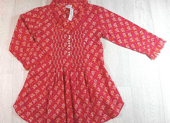 ◾At Last pink tunic. Size 8 NWT