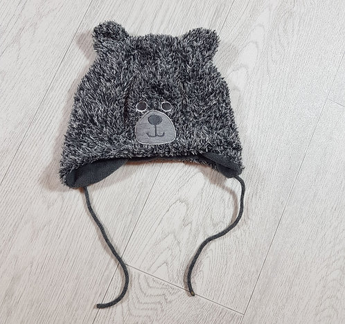 🌨Lupilu grey teddy hat size 2
