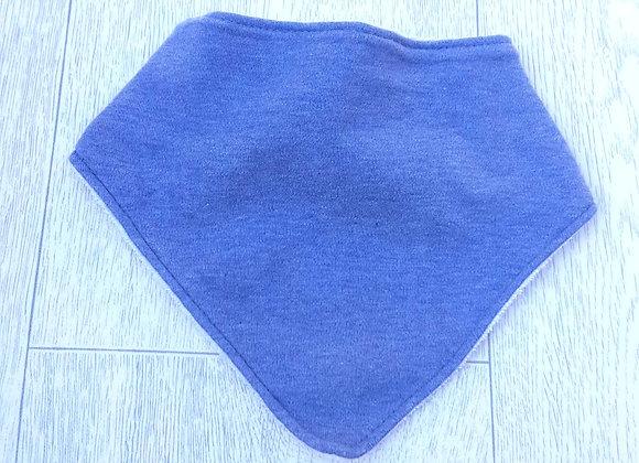 F&F blue toweling backed dribble bib. One size