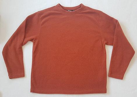 ROHAN. Orange/brown fleece.