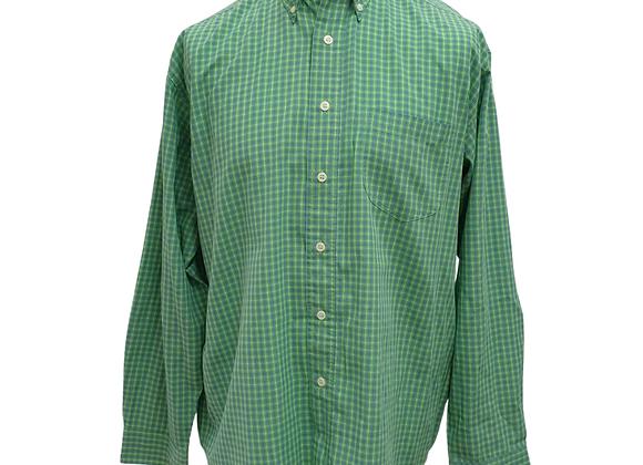Burton green long sleeve shirt. Size L