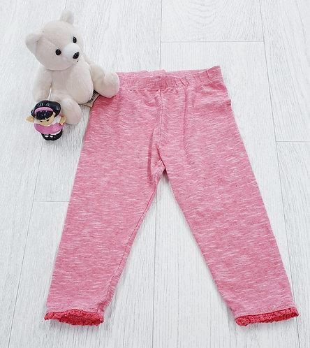 ▪︎Mothercare leggings with ruffled hem. 12-18m