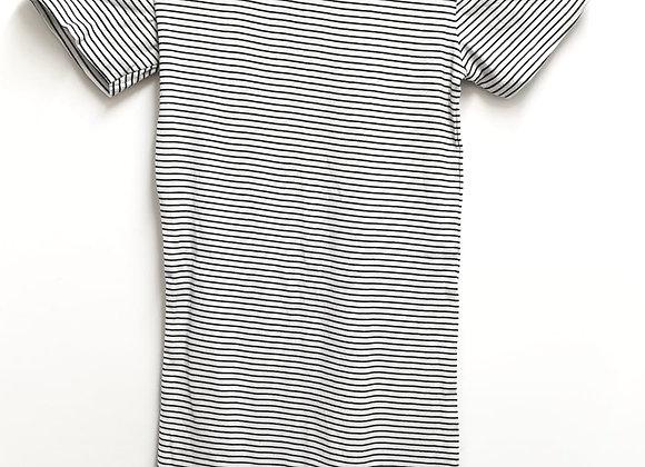 Black/white striped t-shirt dress. Size S