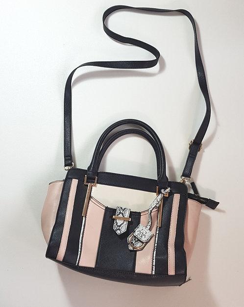 F&F navy/peach handbag