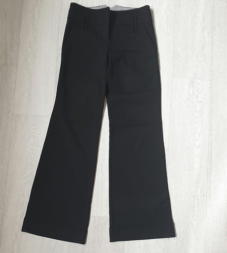 🧡Topshop black flared trousers. Size 8