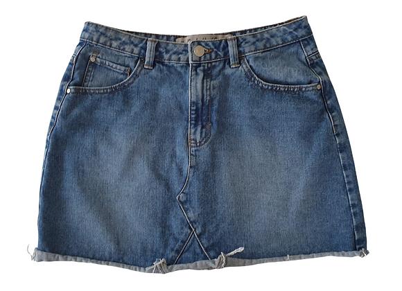 Denim Co mini skirt. Uk 10