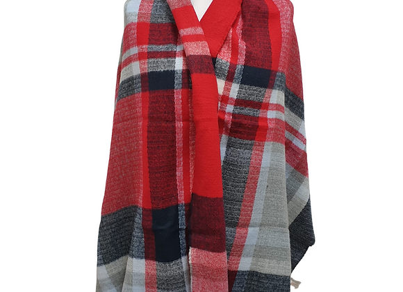 Atmosphere shawl