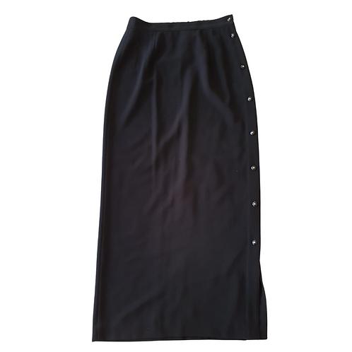 Alternatives long black skirt. Uk 10