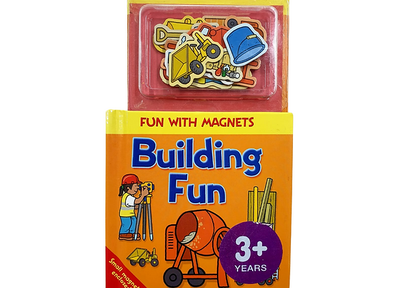 Building Fun mini book with magnets