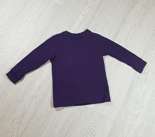 🐠Alarm kids purple long sleeve top size 12-18m