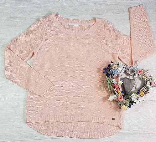ONLY Peach knit sweater. Size L