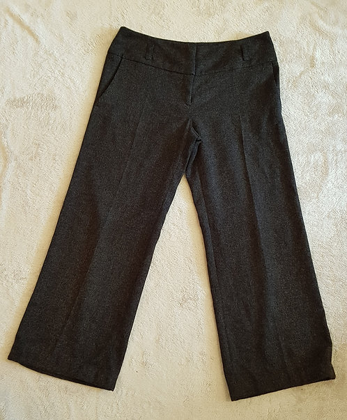 Atmosphere. Charcoal wide leg trousers. Size 14.