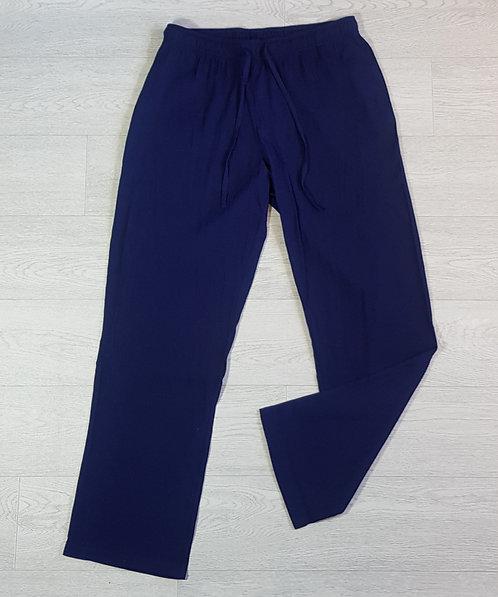 Damart Blue lightweight trousers. Size 18